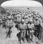The Guards Brigade on the march to Kroonstadt, South Africa, Boer War Postcards, Greetings Cards, Art Prints, Canvas, Framed Pictures & Wall Art by English Photographer