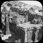 Caves of Ellora, Maharashtra, India Fine Art Print by Indian School