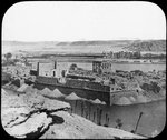 General view of ruins, Philae, Egypt Fine Art Print by William James Muller