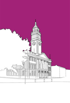 Guildhall Hull Wall Art & Canvas Prints by People Will Always Need Plates