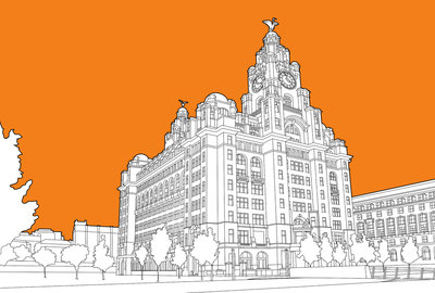Royal Liver Building Wall Art & Canvas Prints by People Will Always Need Plates