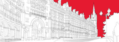 St Pancras Wall Art & Canvas Prints by People Will Always Need Plates