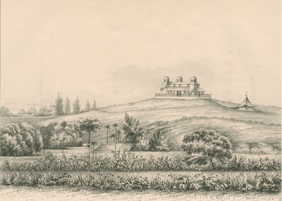 'Trevandrum Observatory...from the South West' by Anonymous - print