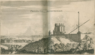 View overlooking the Royal Observatory, Greenwich by Francis Place - print