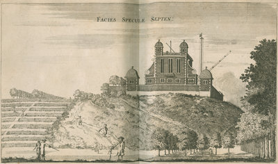 View facing the Royal Observatory, Greenwich by Francis Place - print