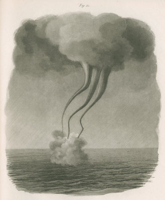 Waterspouts by Paul Legrand - print