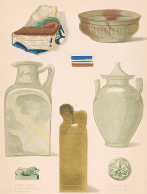 Roman, Chinese and other ancient glass by J R Robbins - print