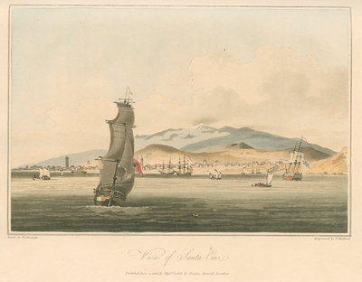 'View of Santa Cruz' by Thomas Medland - print