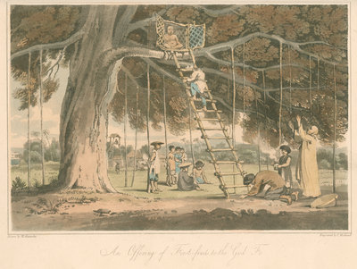 'An Offering of First-fruits to the God Fo' by Thomas Medland - print