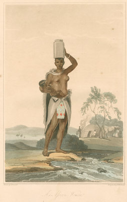 'An African woman' by Thomas Medland - print