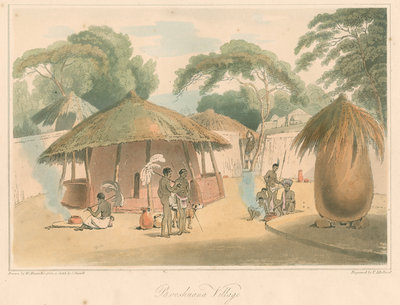 'Booshuana Village' by Thomas Medland - print