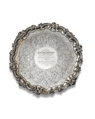 Salver by unknown - print