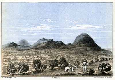 Mount Taylor and Mount Hale by Henry Charles Prinsep - print