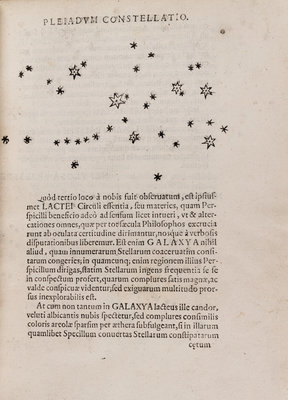 Pleiades star cluster by After Galileo Galilei - print