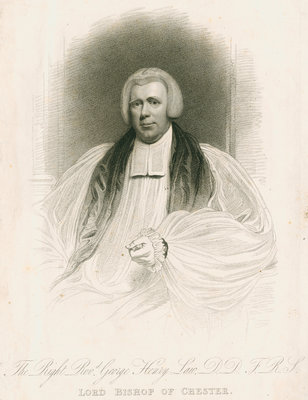 Portrait of George Henry Law (1761-1845) by unknown - print