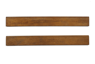 Wooden rulers from Woolsthorpe by Anonymous - print