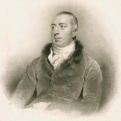 Portrait of Richard Payne Knight (1751-1824) by Edward Scriven - print