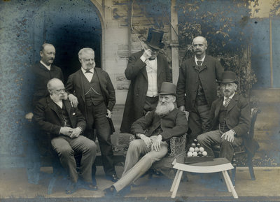 Scientists at a meeting of the British Association for the Advancement of Science by Anonymous - print