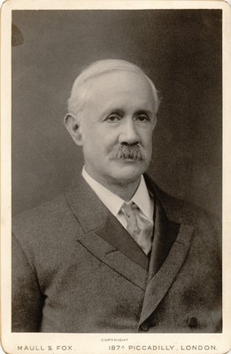 Portrait of Henry Taylor Bovey (1850-1912) by Maull & Fox - print
