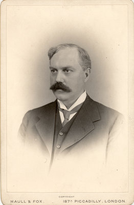 Portrait of Thomas Gregor Brodie (1866-1916) by Maull & Fox - print