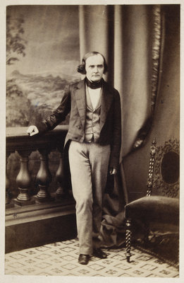 Portrait of Arthur Cayley (1821-1895) by Maull & Polyblank - print