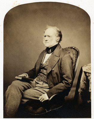 Portrait of Charles Lyell (1797-1875) by Maull & Polyblank - print