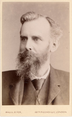 Portrait of John Venn (1834-1923) by Maull & Fox - print