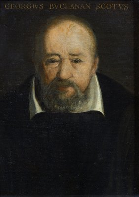 Portrait of George Buchanan (1506-1582) by Frans Pourbus - print