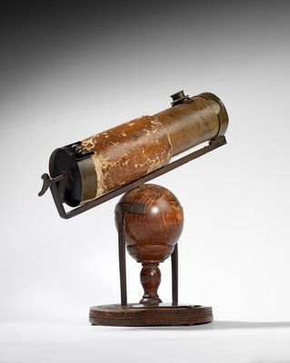 Isaac Newton's reflecting telescope by Isaac Newton - print