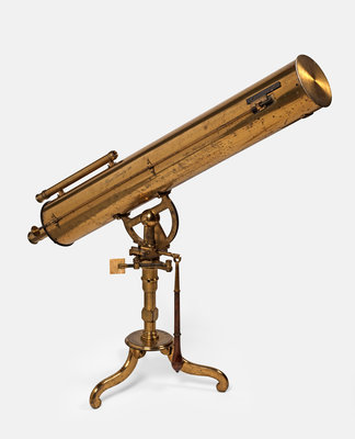 Reflecting telescope by James Short - print