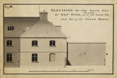 Elevation of the South endà [of Heckingham Workhouse, Norfolk] by Anonymous - print