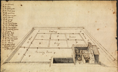 Salt-works at Hampshire by Robert Hooke - print