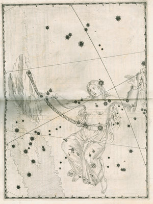 Constellation of Andromeda by Alexander Mair - print