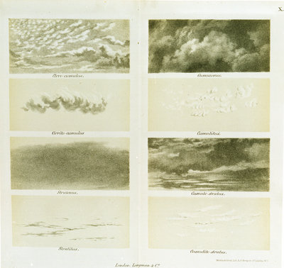 Types of cloud by Martin & Hood - print