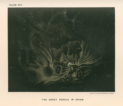 'The great nebula in Orion' by Cassell & Co - print