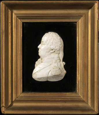 Sculpture relief of William Fraser (d.1818) by William Tassie - print