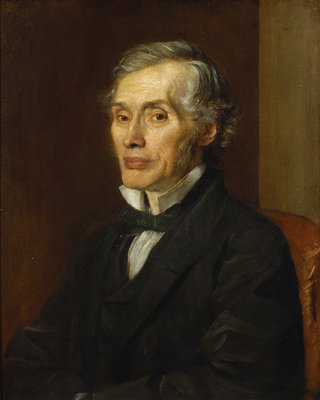 Portrait of Thomas Graham (1805-1869) by George Frederick Watts - print