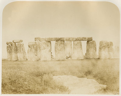 'Stonehenge. General view...' by Henry James - print