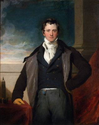 Portrait of Humphry Davy (1778-1829) by Thomas Lawrence - print