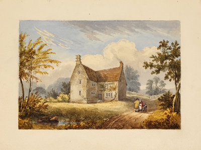Woolsthorpe Manor by Thomas Howison - print