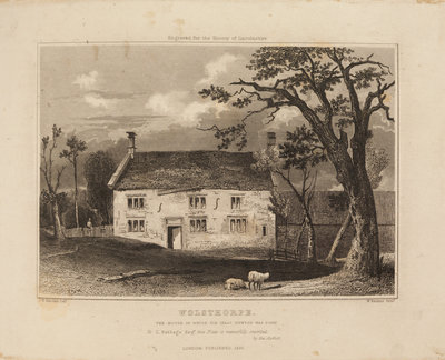 Woolsthorpe Manor by William Watkins - print