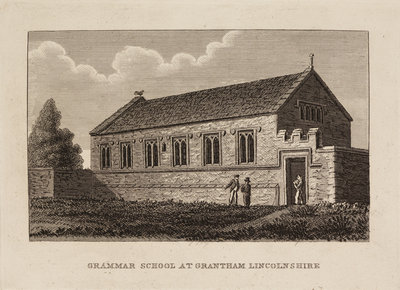 Grantham School, Lincolnshire by Anonymous - print