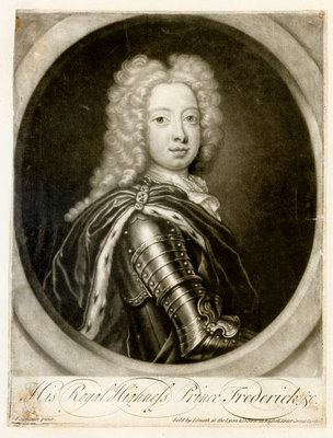 Portrait of Frederick Lewis, Prince of Wales (1707-1751) by John Smith - print