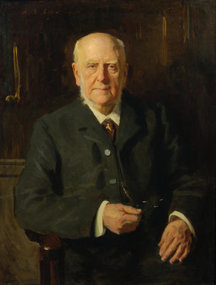 Portrait of Archibald Geikie (1835-1924) Wall Art & Canvas Prints by Reginald Grenville Eves