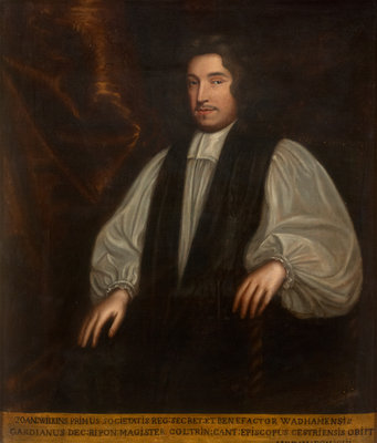 Portrait of John Wilkins (1614-1672) by Mary Beale - print