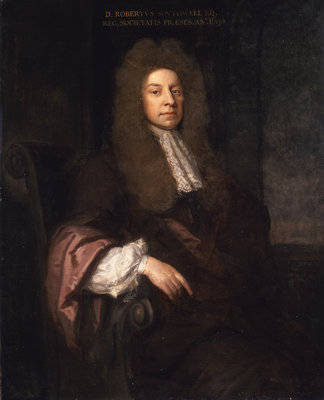 Portrait of Robert Southwell (1635-1702) by Godfrey Kneller - print