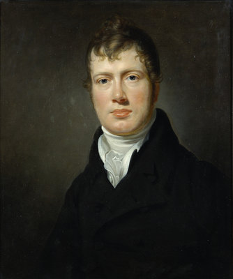 Portrait of Taylor Combe (1774-1826) by George Francis Joseph - print