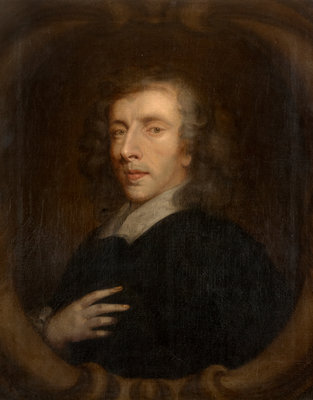 Portrait of Henry More (1614-1687) by Peter Lely - print