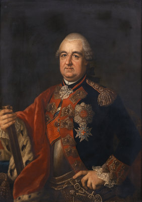 Portrait of Karl Theodor, Count Palatine and Duke of Bavaria (1724-1799) by unknown - print