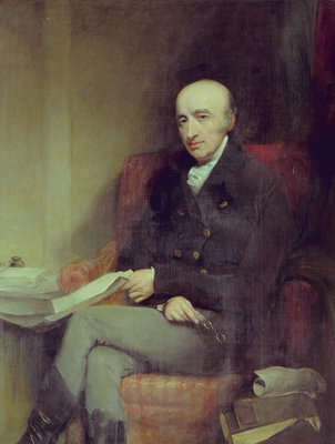 Portrait of William Hyde Wollaston (1766-1828) by John Jackson - print